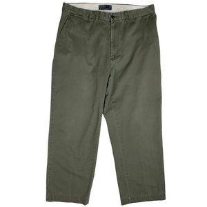 Polo Ralph Lauren Chino Pants Flat Front 34x28